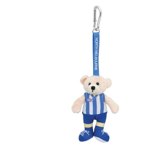 28597821eb5 North Melbourne Kangaroos Beanie Bear Bag Tag