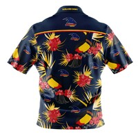 Adelaide Crows Adults Hawaiian Shirt Size:M