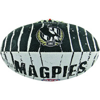 Collingwood Magpies Size 2 Synthetic Football