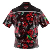 Essendon Bombers Adults Hawaiian Shirt Size:M
