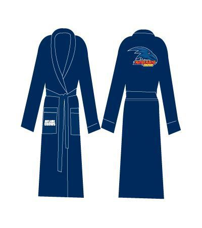 Adelaide Crows Adults Premium Quality Dressing Gown