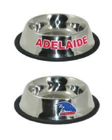Adelaide Crows Metal Dog Bowl