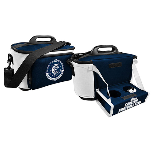 Carlton Blues Cooler Bag with Tray