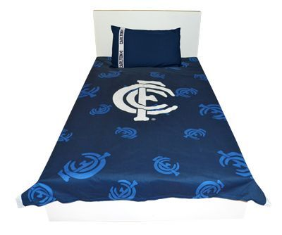 Carlton Blues Double Doona Cover