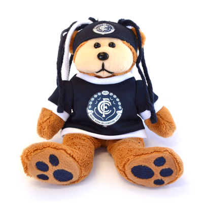 Carlton Blues Fanatic Beanie Kid Bear