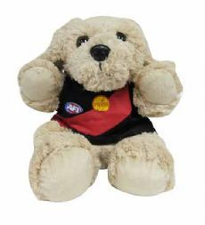 Essendon Bombers Musical Puppy Puppet