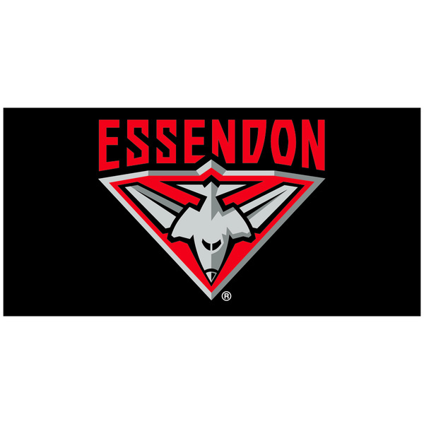 Essendon Bombers Flag Pole Flag Quality Outdoor Flag