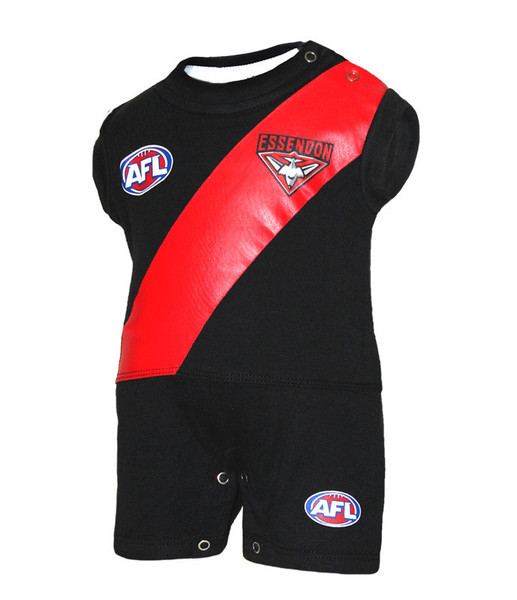 Essendon Bombers Infants Short Footysuit