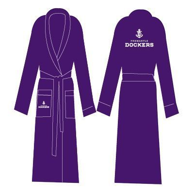Fremantle Dockers Adults Premium Quality Dressing Gown