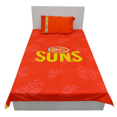 Gold Coast Suns Double Doona Cover