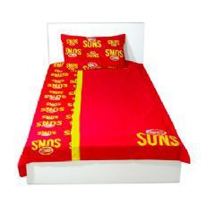 Gold Coast Suns Queen Doona Cover