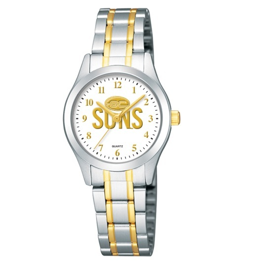 Gold Coast Suns Ladies Bracelet Watch