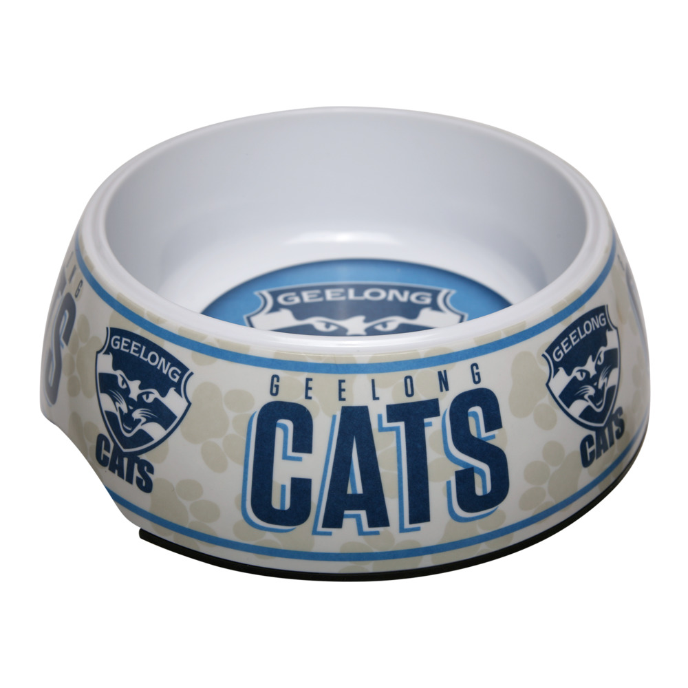 Geelong Cats Dog Bowl