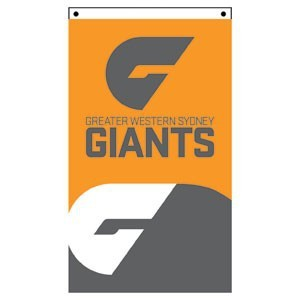 GWS Giants Supporter Flag
