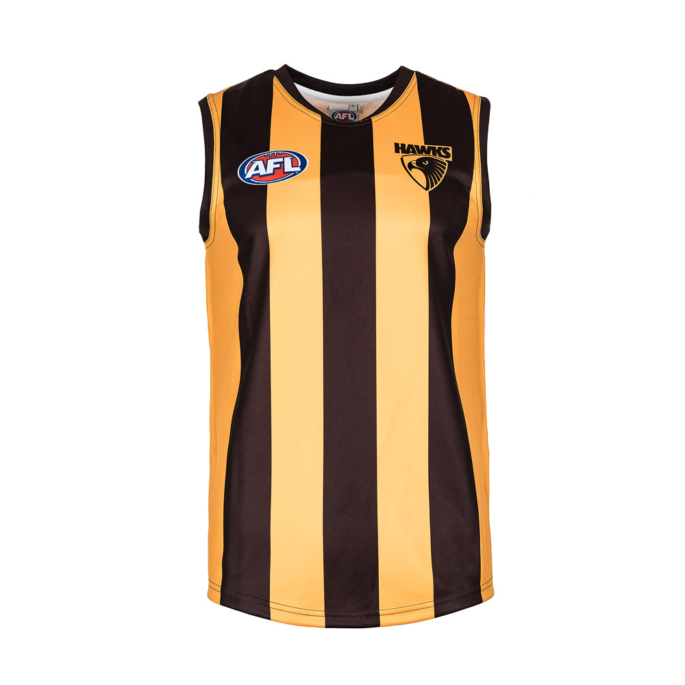 44dc18e9c35d Hawthorn Hawks Adults Guernsey Sizes S to 3XL