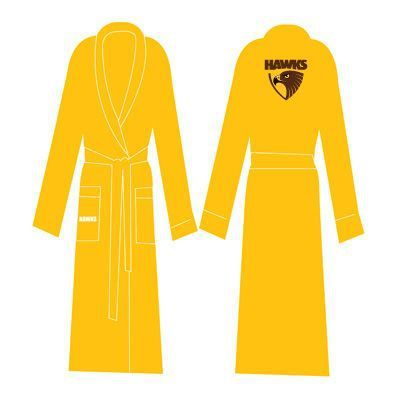 Hawthorn Hawks Adults Dressing Gown