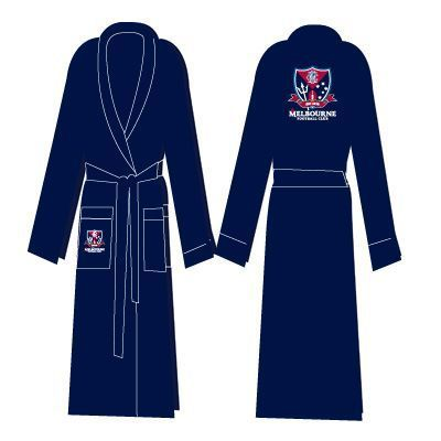 Melbourne Demons Adults Premium Quality Dressing Gown