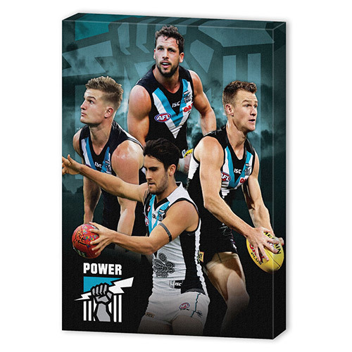 Port Adelaide Power Player Canvas