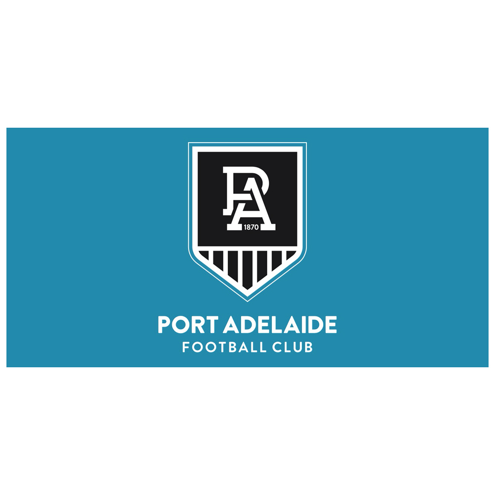 Port Adelaide Power Flag Pole Flag