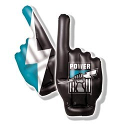 Port Adelaide Power Inflatable Hand