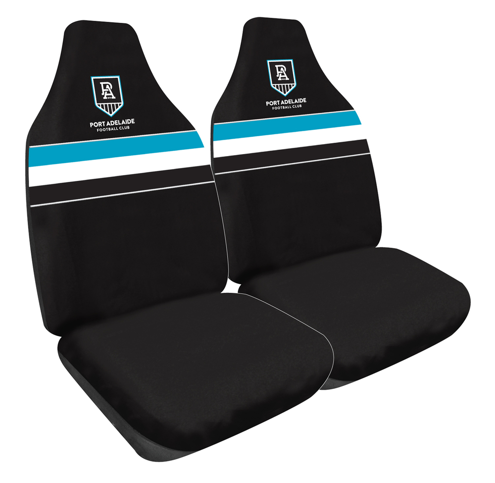 Port Adelaide Power Car Seat Covers