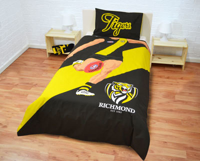 Richmond Tigers Single Player Doona Cover