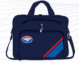 Western Bulldogs Laptop Satchel