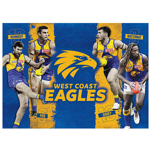 West Coast Eagles 1000 Piece Jigsaw Puzzle