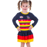 Image of Adelaide Crows Girls Footysuit Dress