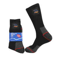 Image of Adelaide Crows Mens Work Socks Pack of 2