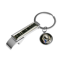 Collingwood Magpies Bottle Opener Keyring
