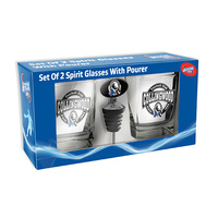 Collingwood Magpies Spirit Glasses with Pourer Gift Pack