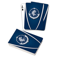Carlton Blues Playing Cards