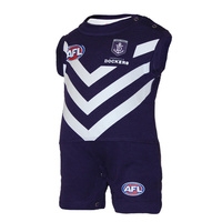 Fremantle Dockers Infants Short Footysuit