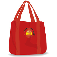 Gold Coast Suns Fold Away Tote Bag