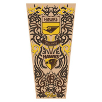 Hawthorn Hawks Adults Tattoo Sleeve