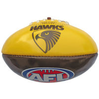 Hawthorn Hawks Small 20cm PVC Football