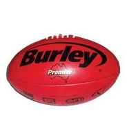 Leather Premier Red Full Size Football