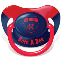 Melbourne Demons Baby Dummy