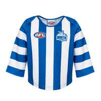 North Melbourne Kangaroos Infant Guernsey Size 0-3 Size:4