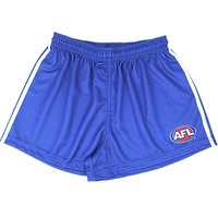 North Melbourne Kangaroos Mens Replica Footy Shorts