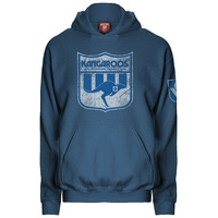 North Melbourne Kangaroos Mens Retro Hoodie