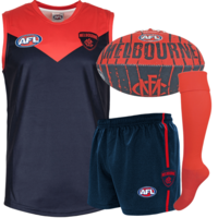Melbourne Demons Auskick Pack