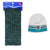 Port Adelaide Power VIP Scarf & Beanie Special Deal