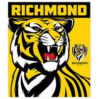 Richmond Tigers Polar Fleece Rug