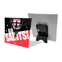 St Kilda Saints Mini Glass Clock