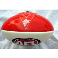 Sydney Swans Small 20cm PVC Football