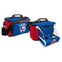 Western Bulldogs Cooler Bag with Tray
