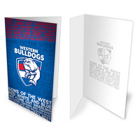 Western Bulldogs Musical Card