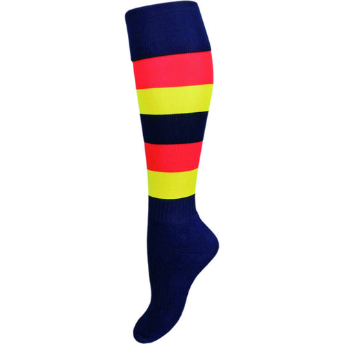 Adelaide Crows Adults Football Socks Size King (11-13)